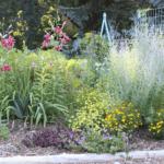 how to design a flower garden