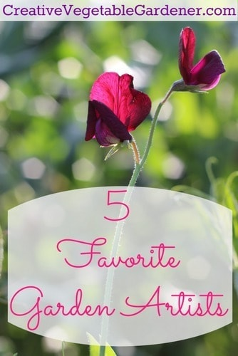 Favorite Garden Artists