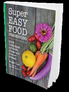 Easy Food Preserving Book
