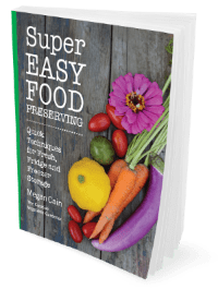 super easy food preserving book
