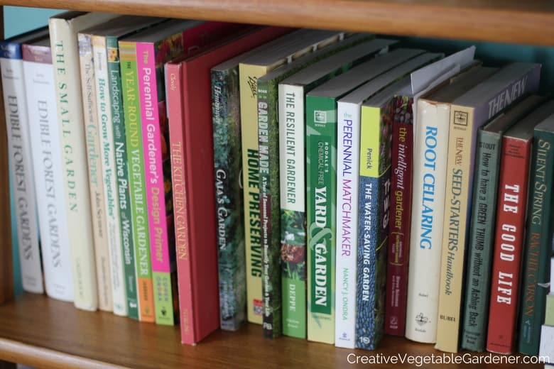 Creative Vegetable GardenerGardening Books for Your Winter