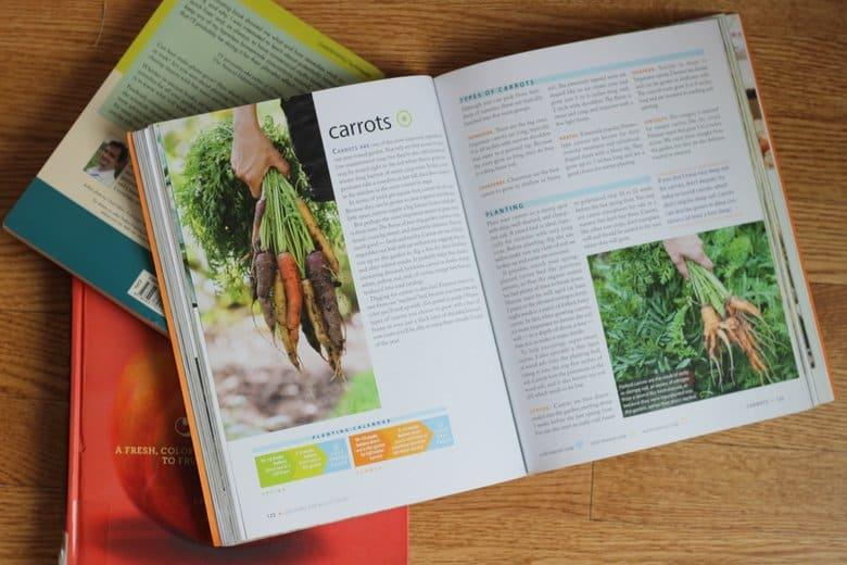 Favorite vegetable Gardening Books