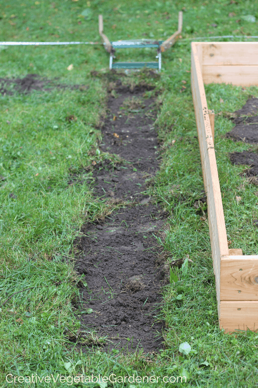 build a raised bed garden