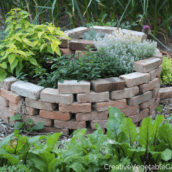 How to Easily Build an Herb Spiral