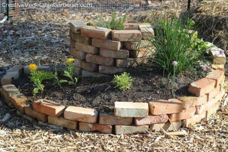 build an herb spiral