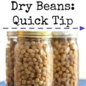 Great Trick for Cooking with Dry Beans