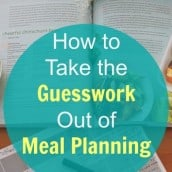 How to Take the Guesswork Out of Meal Planning