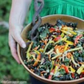 A super kale salad recipe perfect for any time of year