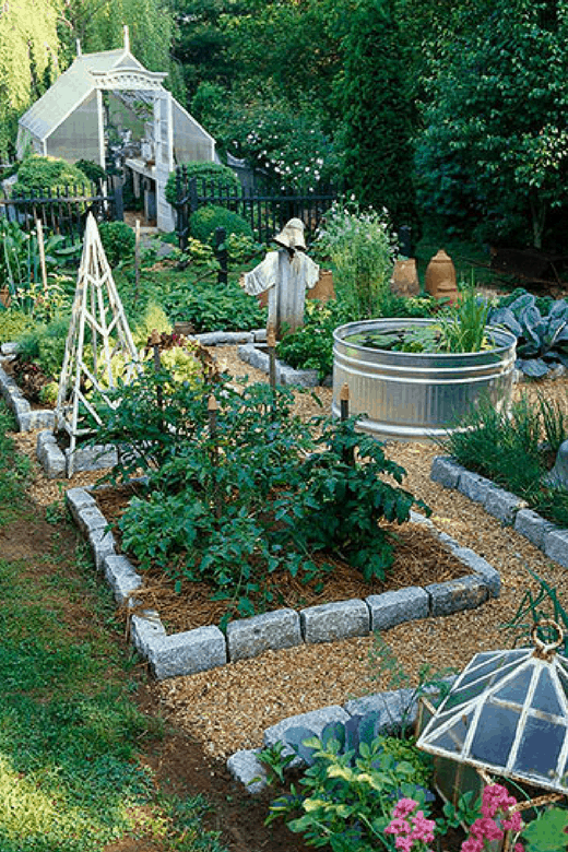 vegetable garden design photos