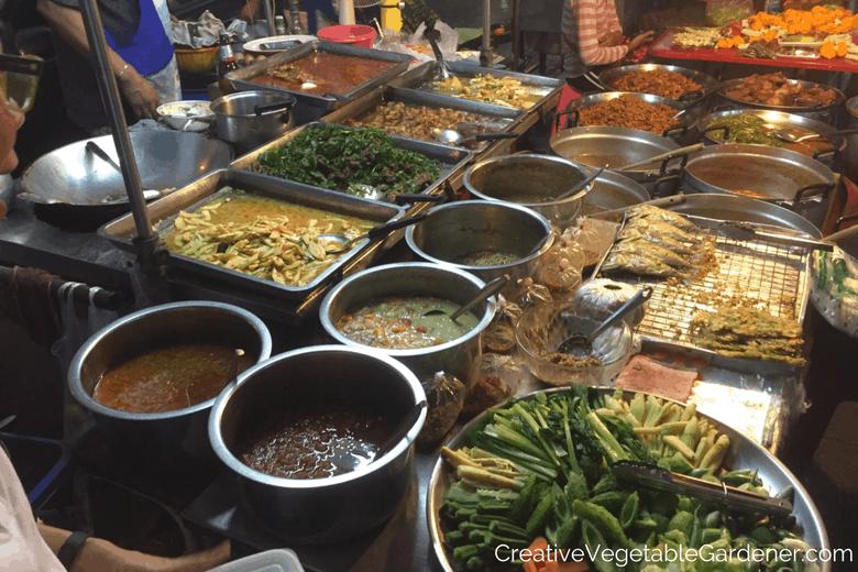 thailand food market