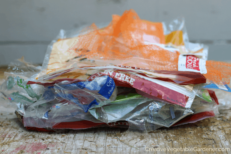 pile of plastic for plastic free july