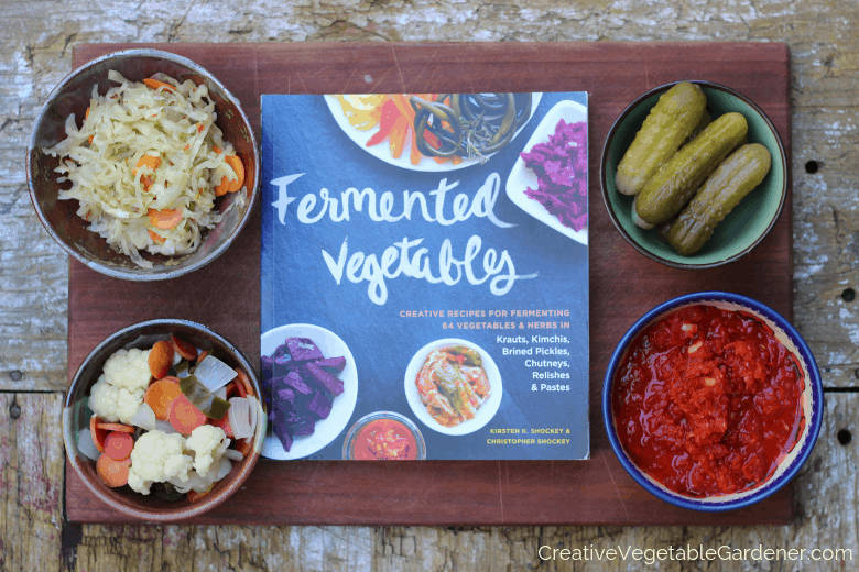 how to make fermented vegetables with a book