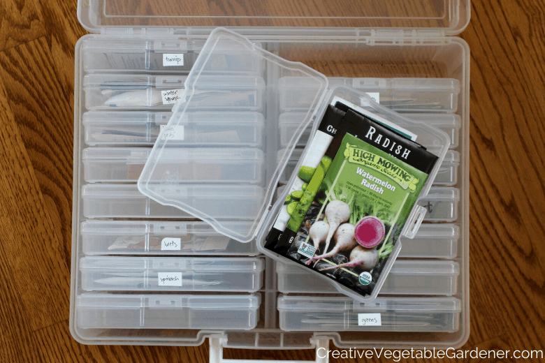 seed storage for garden gift