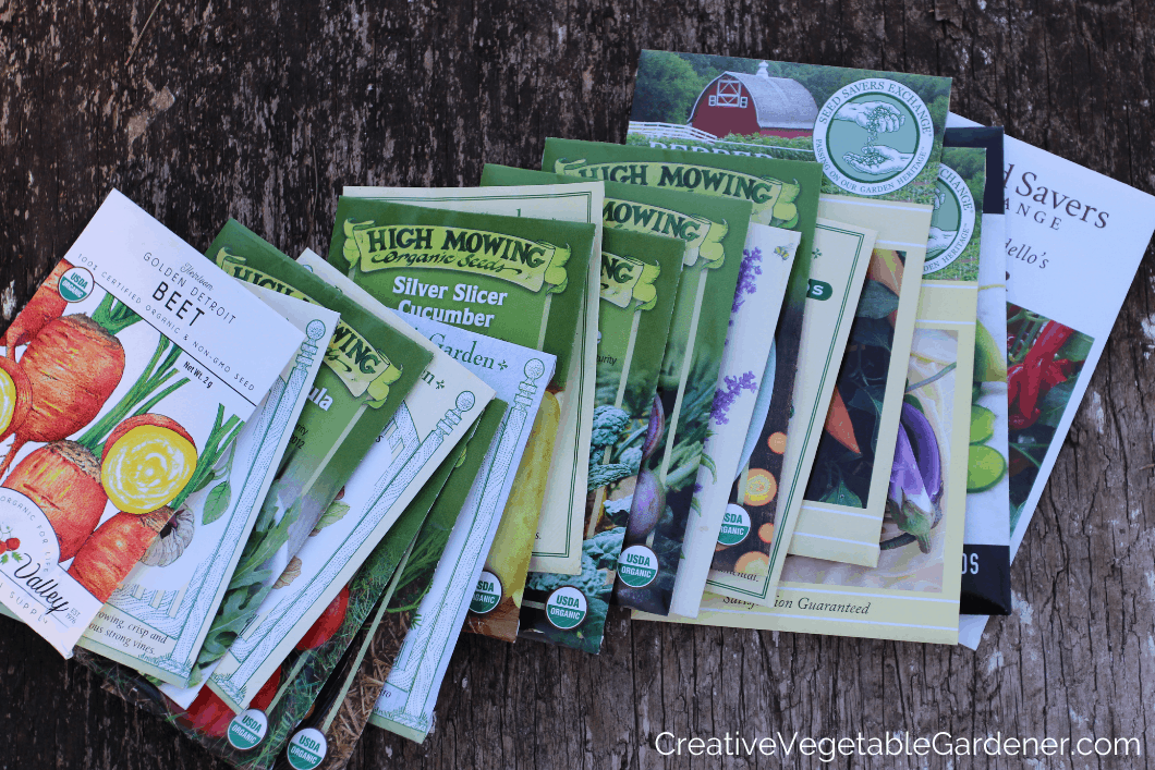 seed packets for starting seeds